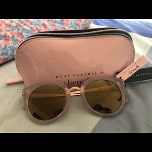 Quay Australia x Benefit sunglasses